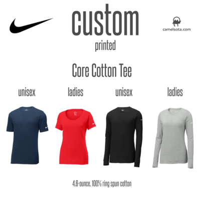 Custom Nike Ladies Core Cotton Tee