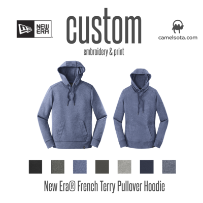Custom New Era Ladies French Terry Pullover Hoodie