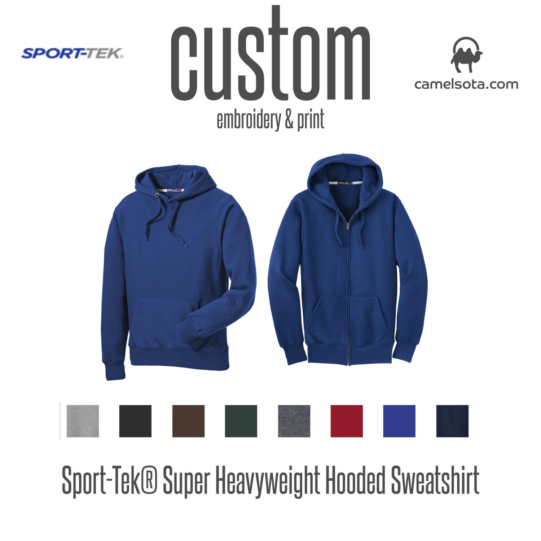 Custom Sport-Tek Super Heavyweight Hoodies