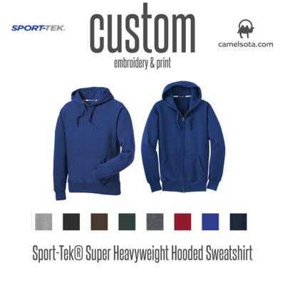 Custom Sport-Tek Super Heavyweight Hoodies