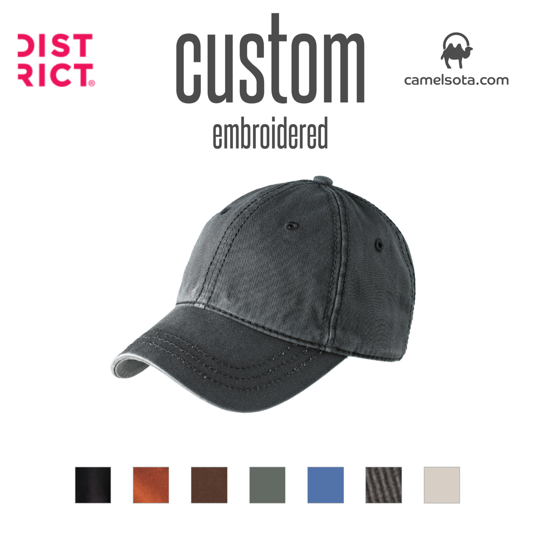 Custom District ® Thick Stitch Cap