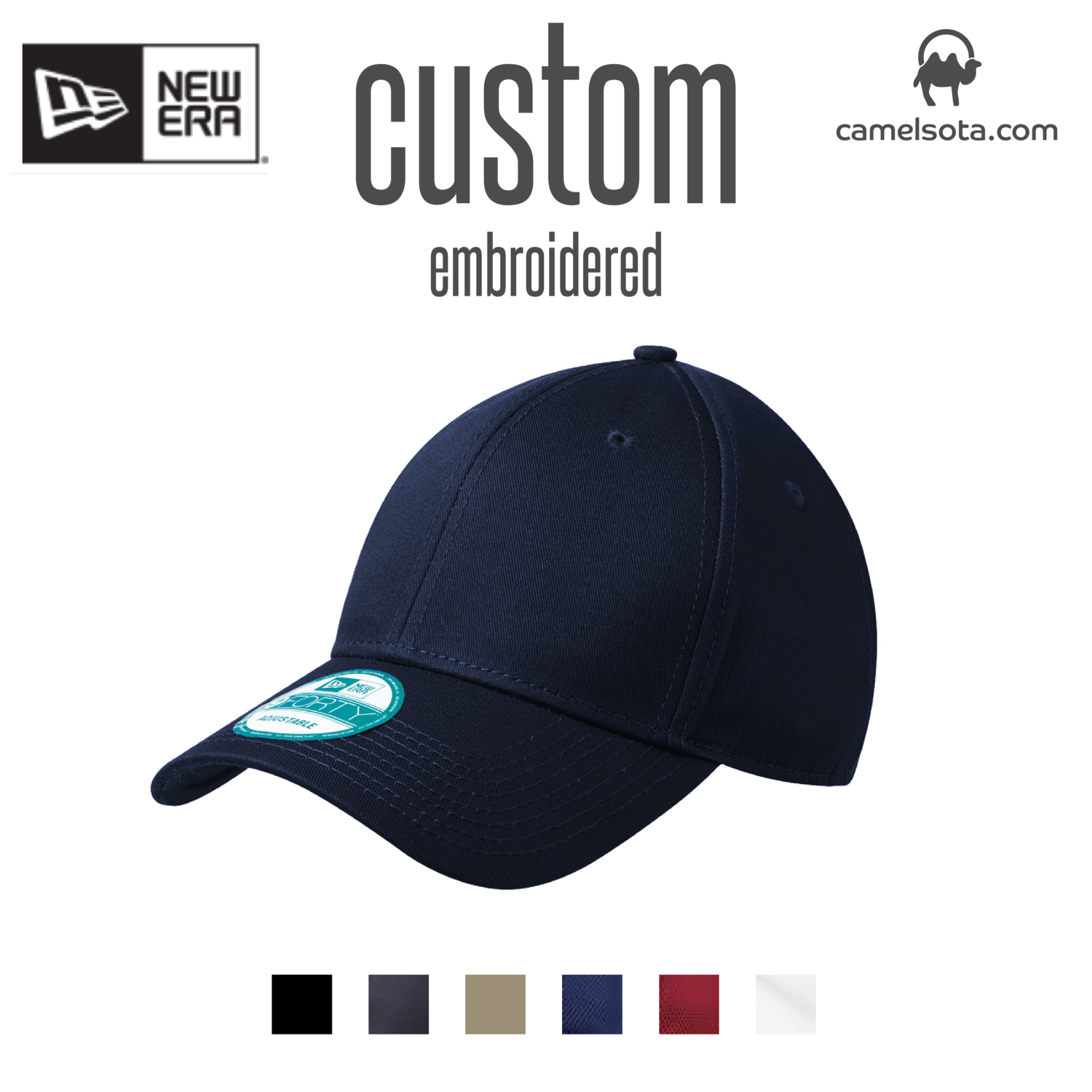 Custom New Era® - Adjustable Structured Cap
