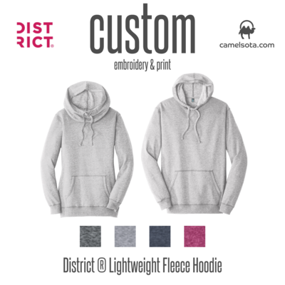 Custom District Lightweight Hoodie