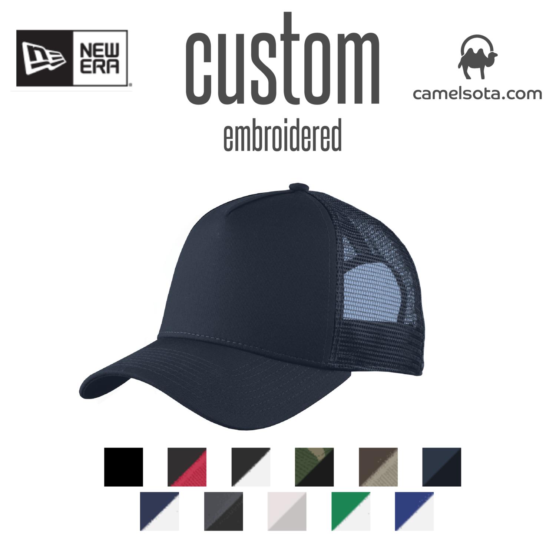 Custom New Era® Snapback Trucker Cap