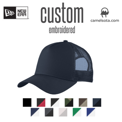 Custom New Era® Snapback Trucker Cap