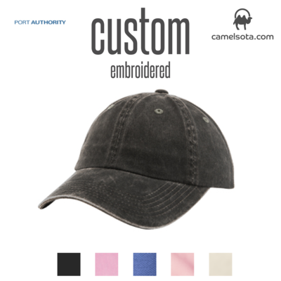 Custom Port Authority® Ladies Garment Washed Cap