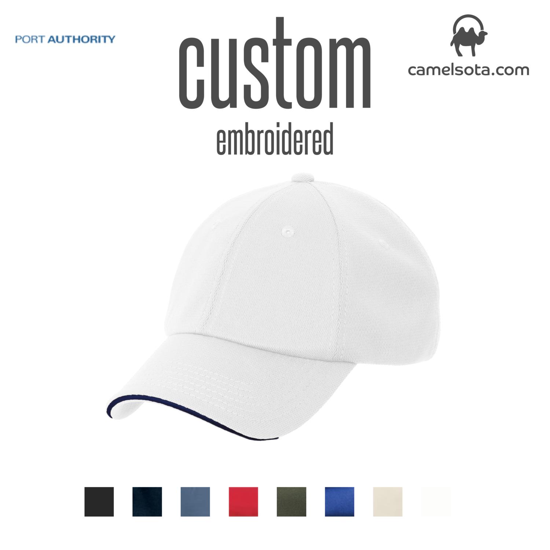 Custom Port Authority® Dry Zone® Cap