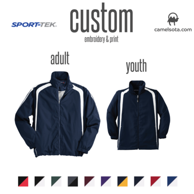 Custom Sport-Tek® Colorblock Raglan Jacket