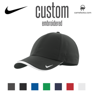 Custom Nike Dri-FIT Swoosh Perforated Cap