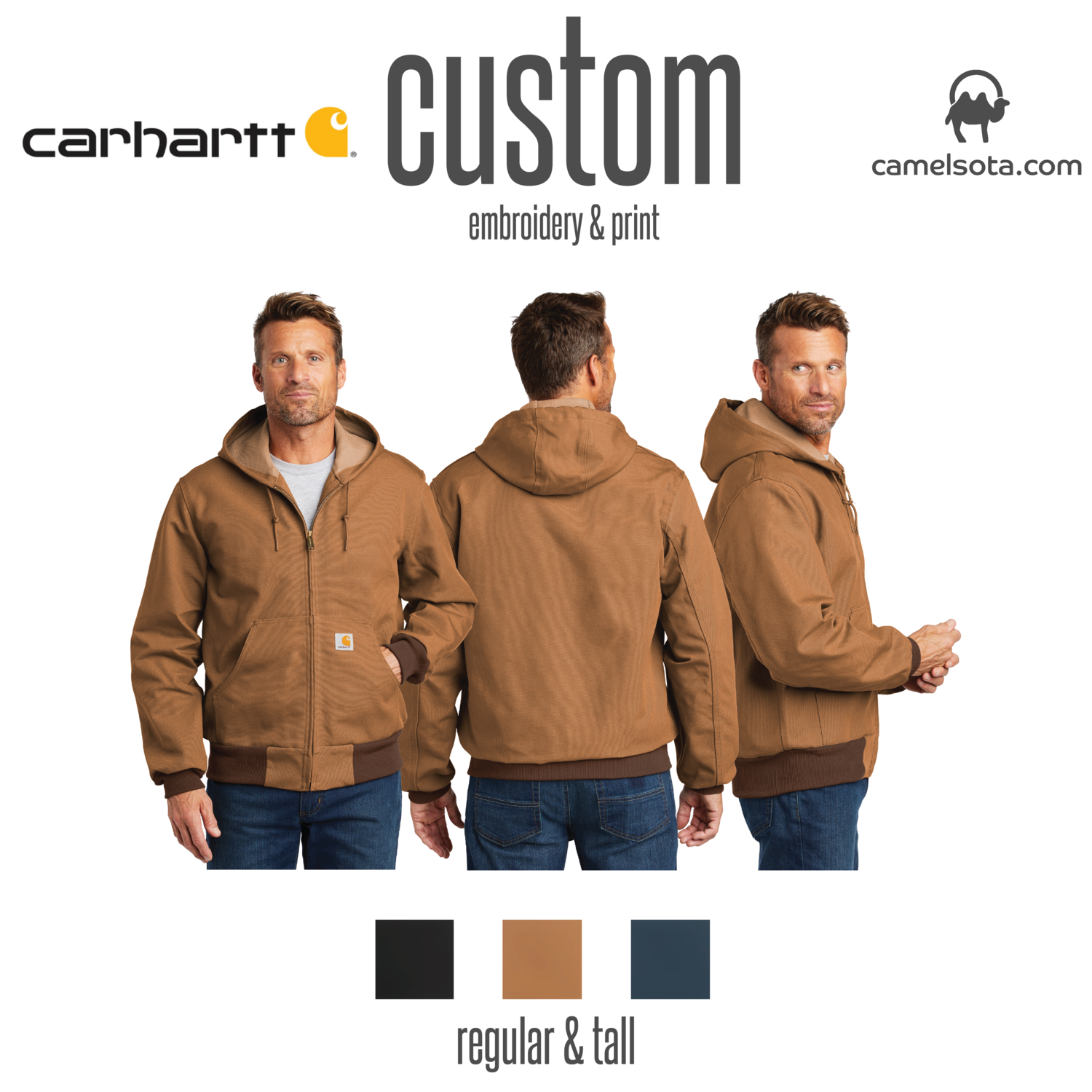 Custom Carhartt Thermal-Lined Duck Active Jac