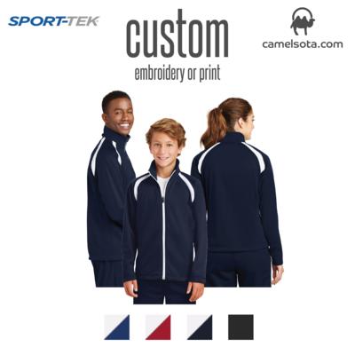 Custom Sport-Tek® Tricot Track Jacket