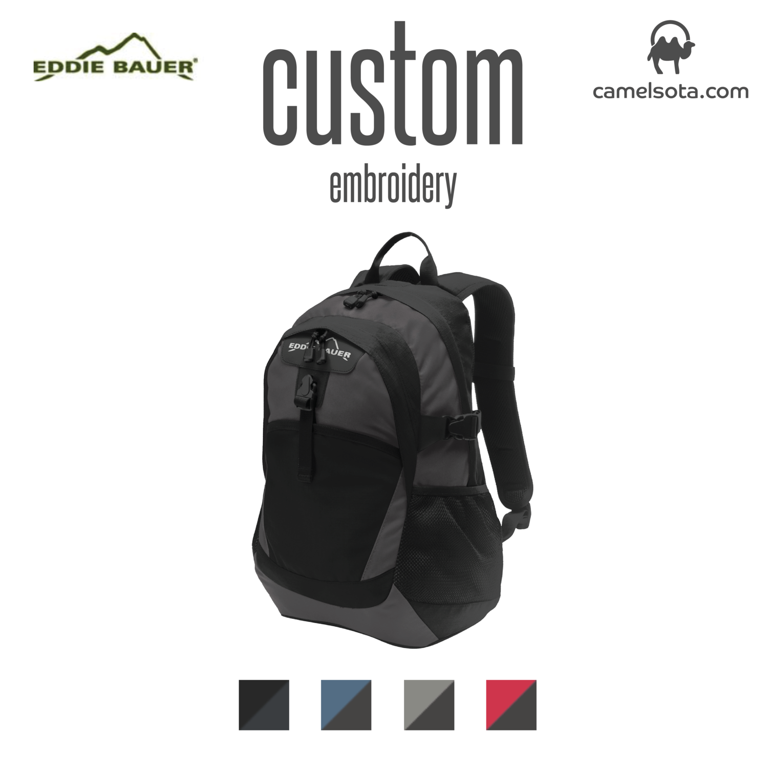 Custom Eddie Bauer® Ripstop Backpack