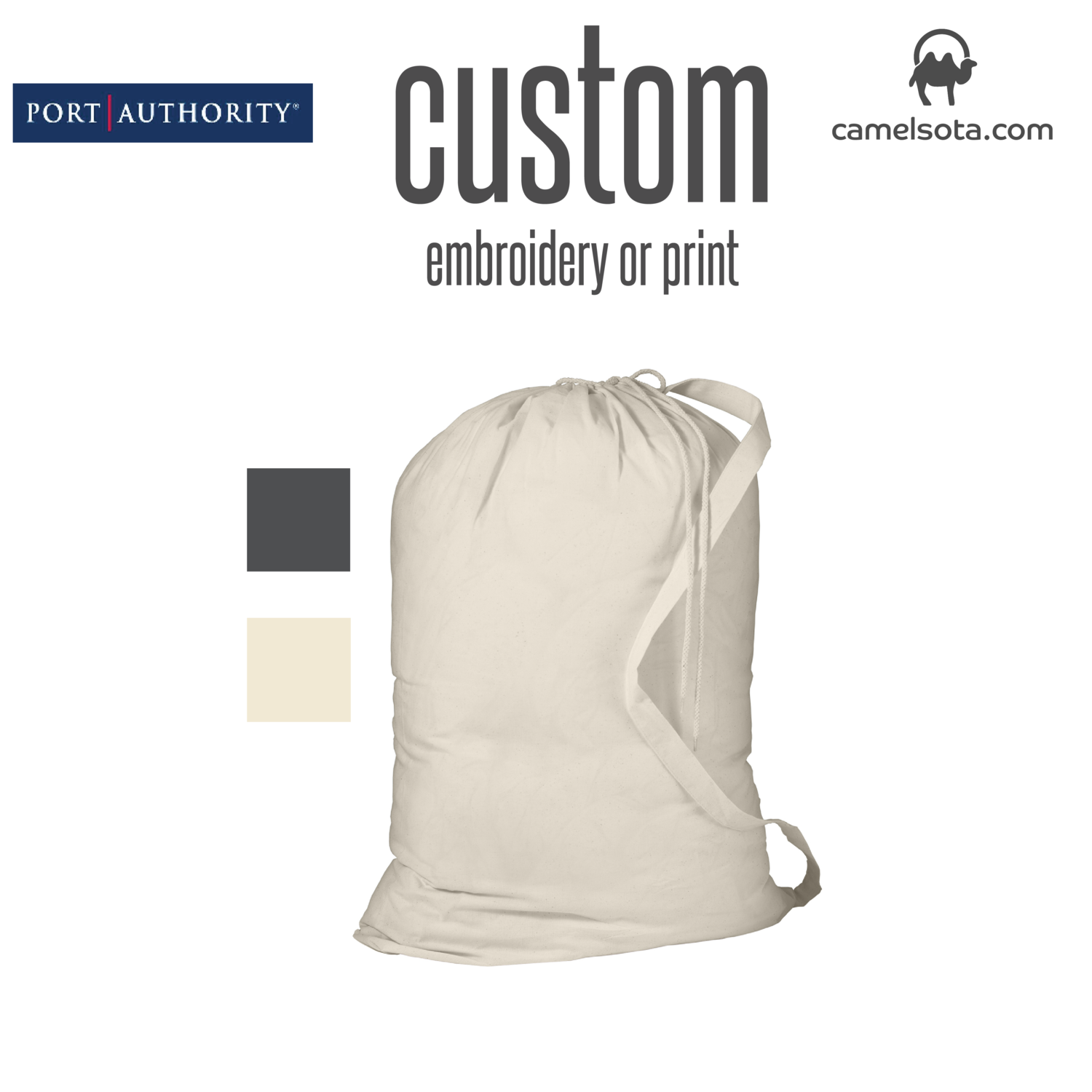 "Custom Port Authority® - Laundry Bag 33.5""x23.75"""