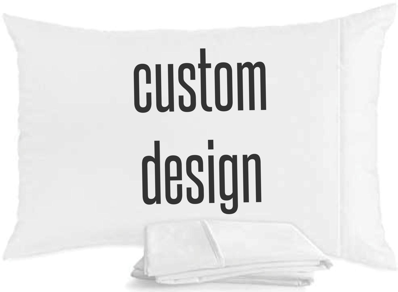 Custom Egyptian Cotton Pillowcase