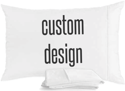 Custom Egyptian Cotton Pillowcase