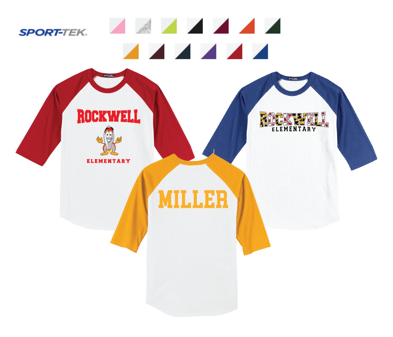 Sport-Tek Colorblock Raglan Jersey
