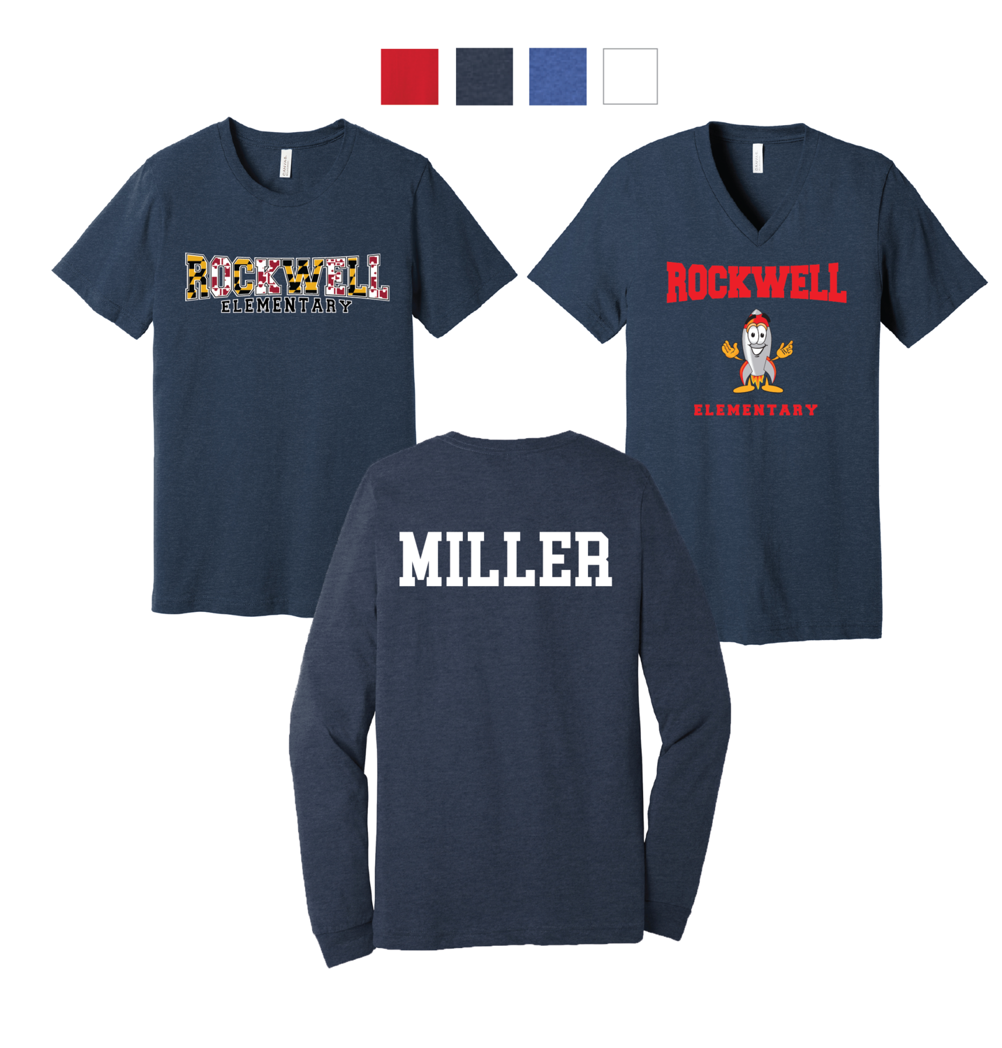 Rockwell Elementary Tees