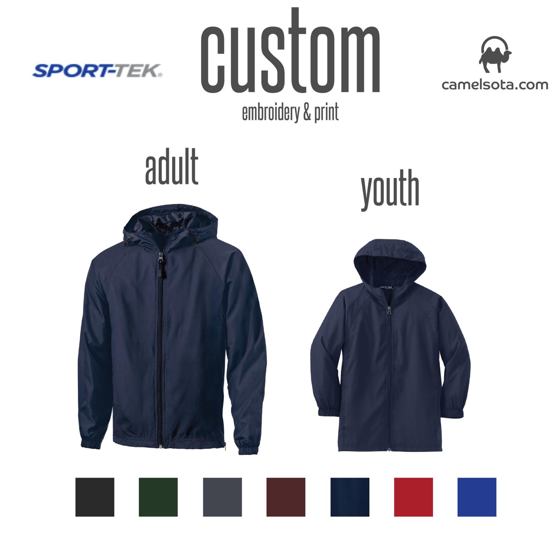 Custom Sport-Tek® Hooded Raglan Jacket