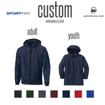 Custom Sport-Tek® Hooded Raglan Jacket