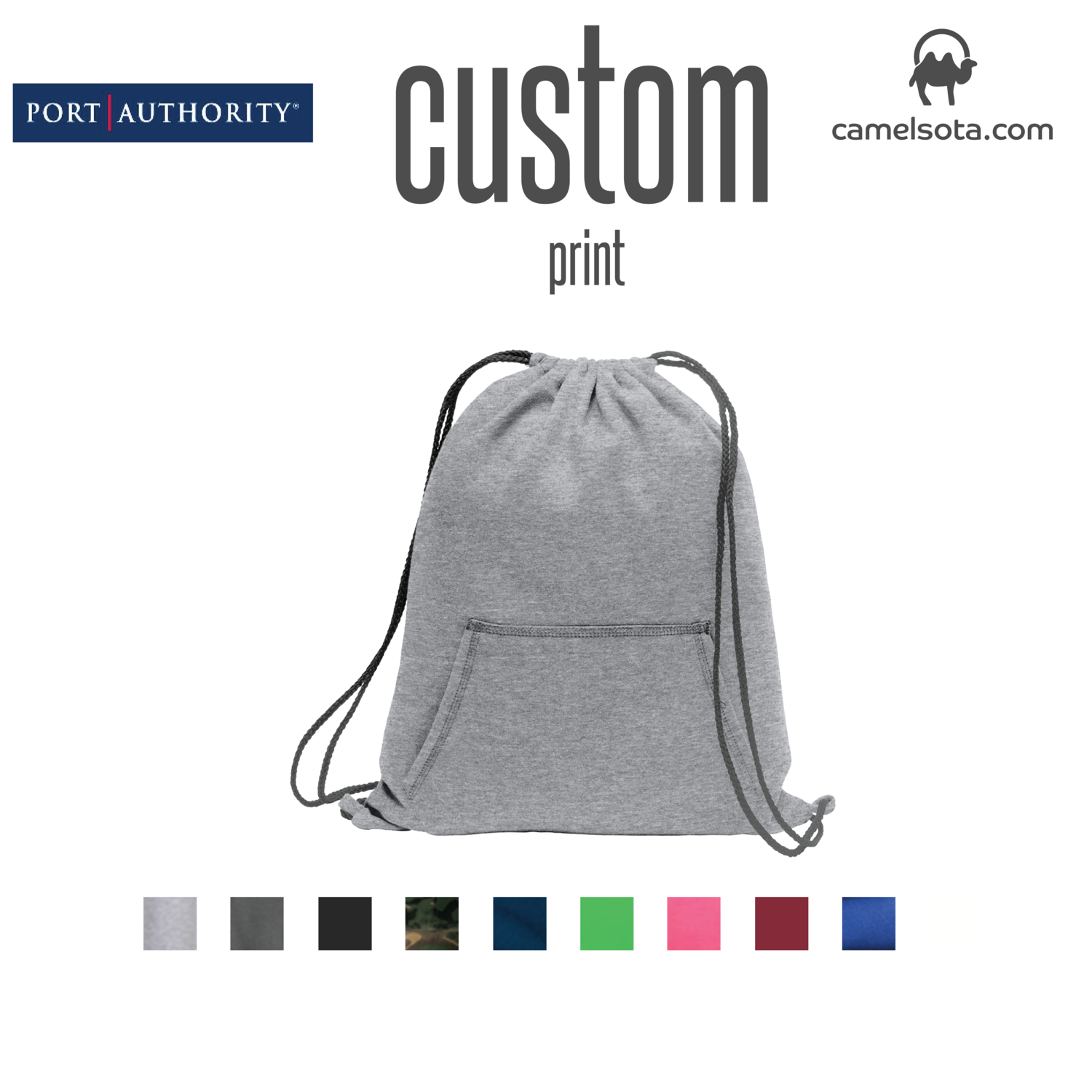 Custom Port & Company® Core Fleece Sweatshirt Cinch Pack