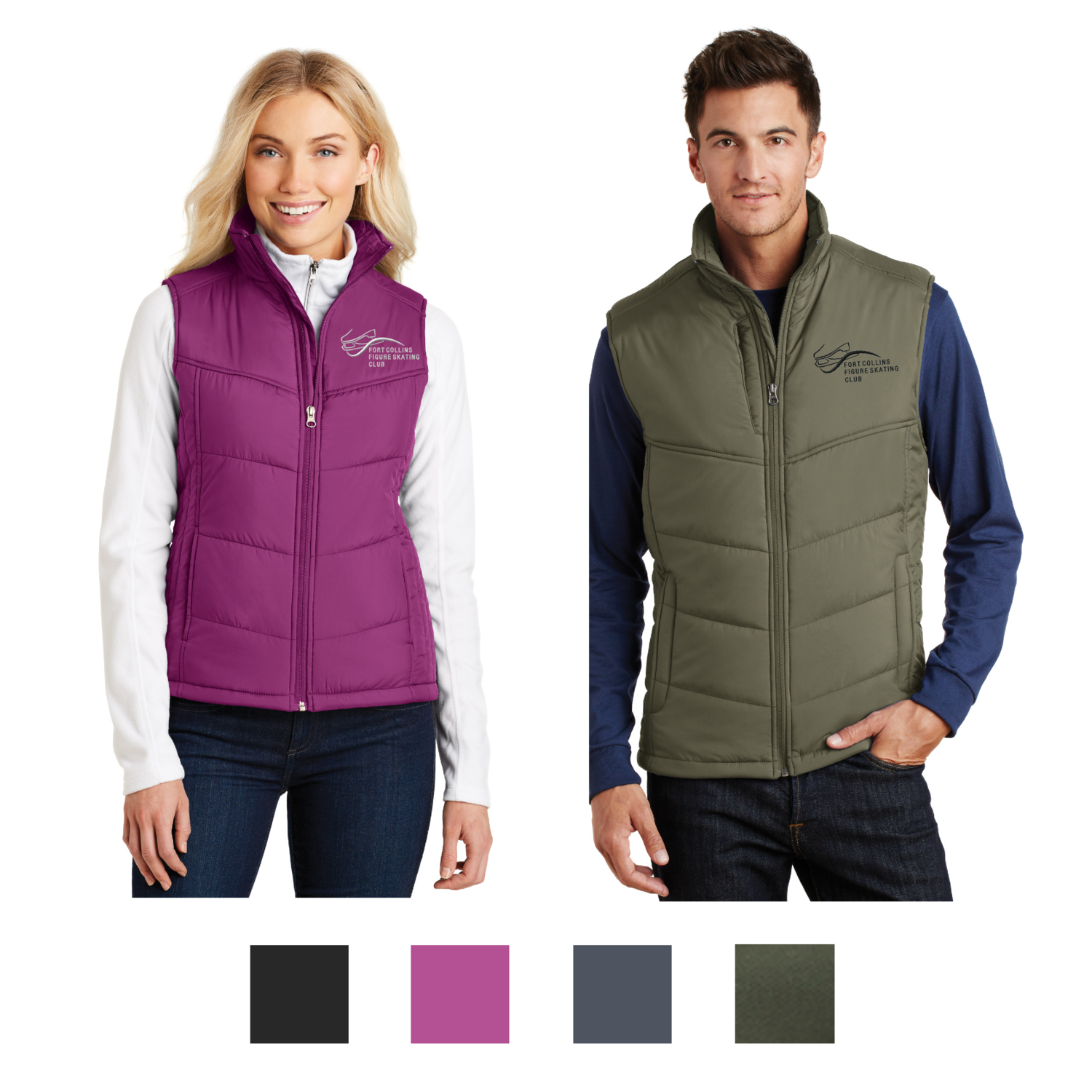 Embroidered Port Authority® Puffy Vest