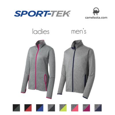 Custom Sport-Tek Sport-Wick Stretch Contrast Full-Zip Jacket