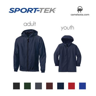 Custom Sport-Tek Hooded Raglan Jacket