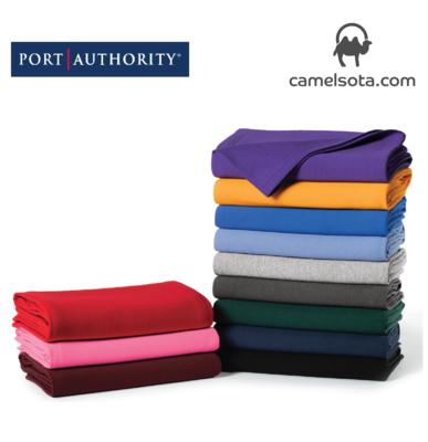 Custom Printed Port & Company Core Fleece Sweatshirt Blanket