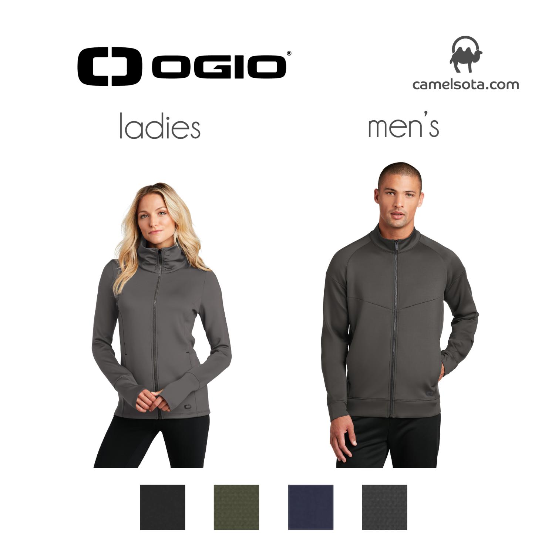 Custom OGIO ENDURANCE Modern Performance Full-Zip
