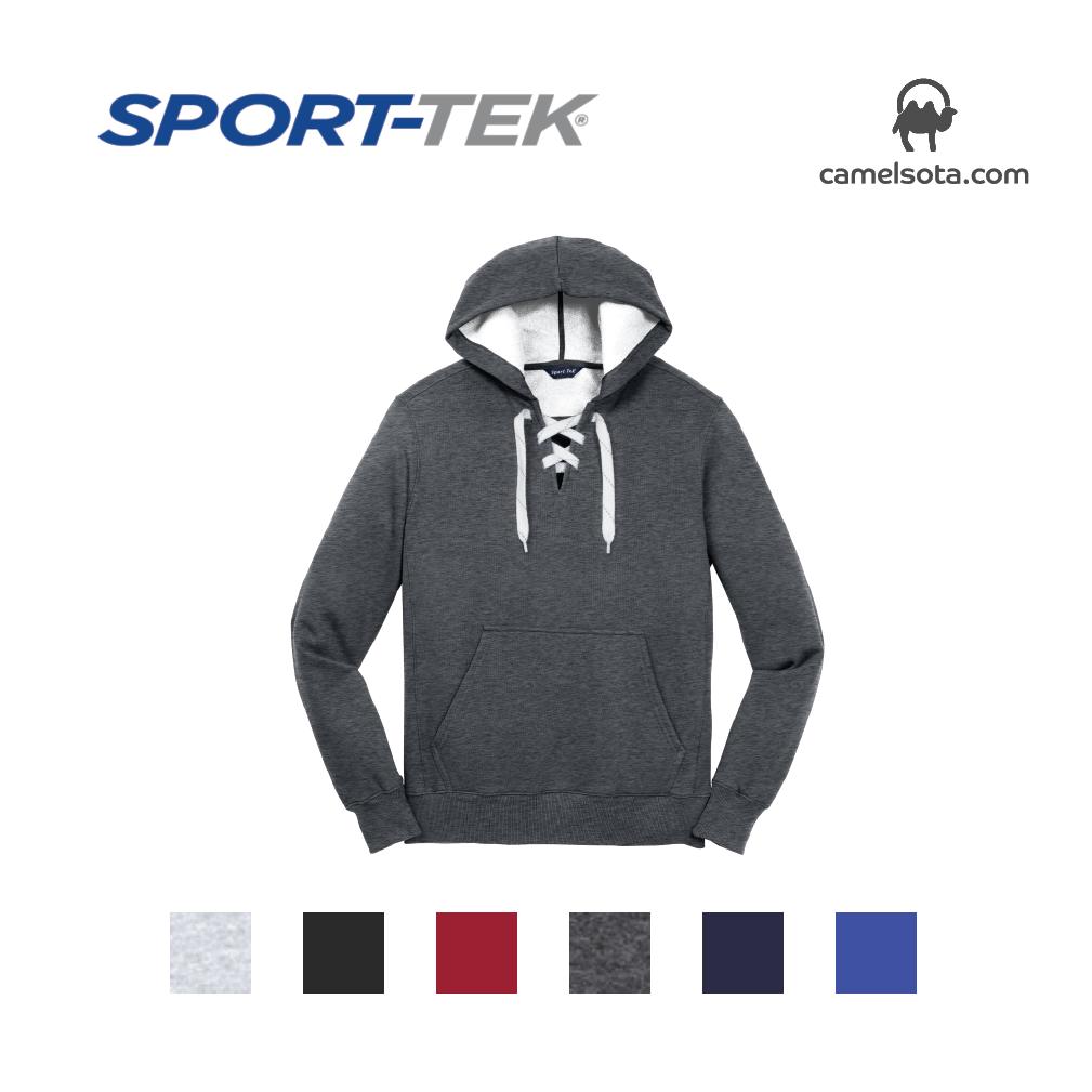 Custom Sport-Tek Lace Up Pullover Hooded Sweatshirt