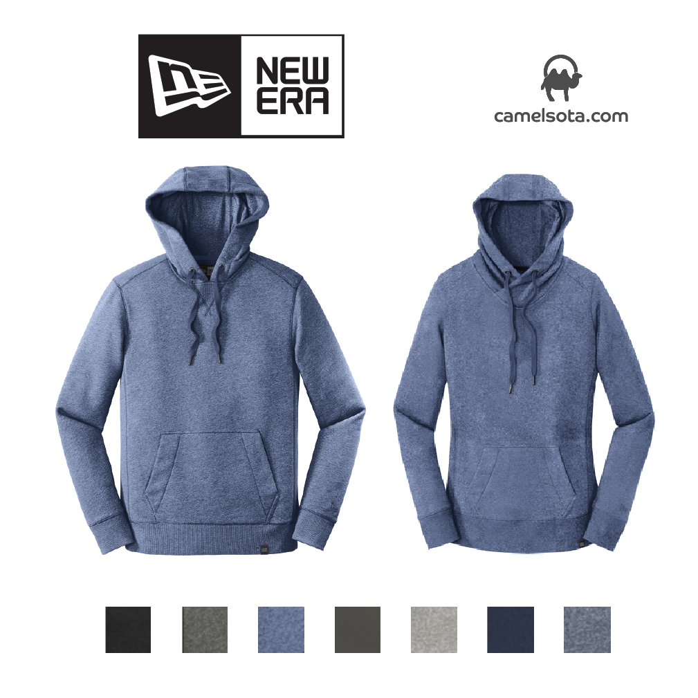 Custom New Era French Terry Pullover Hoodie