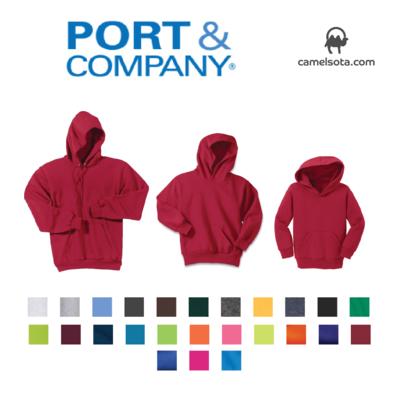 Custom Port & Company - Core Fleece Hooded Pullover