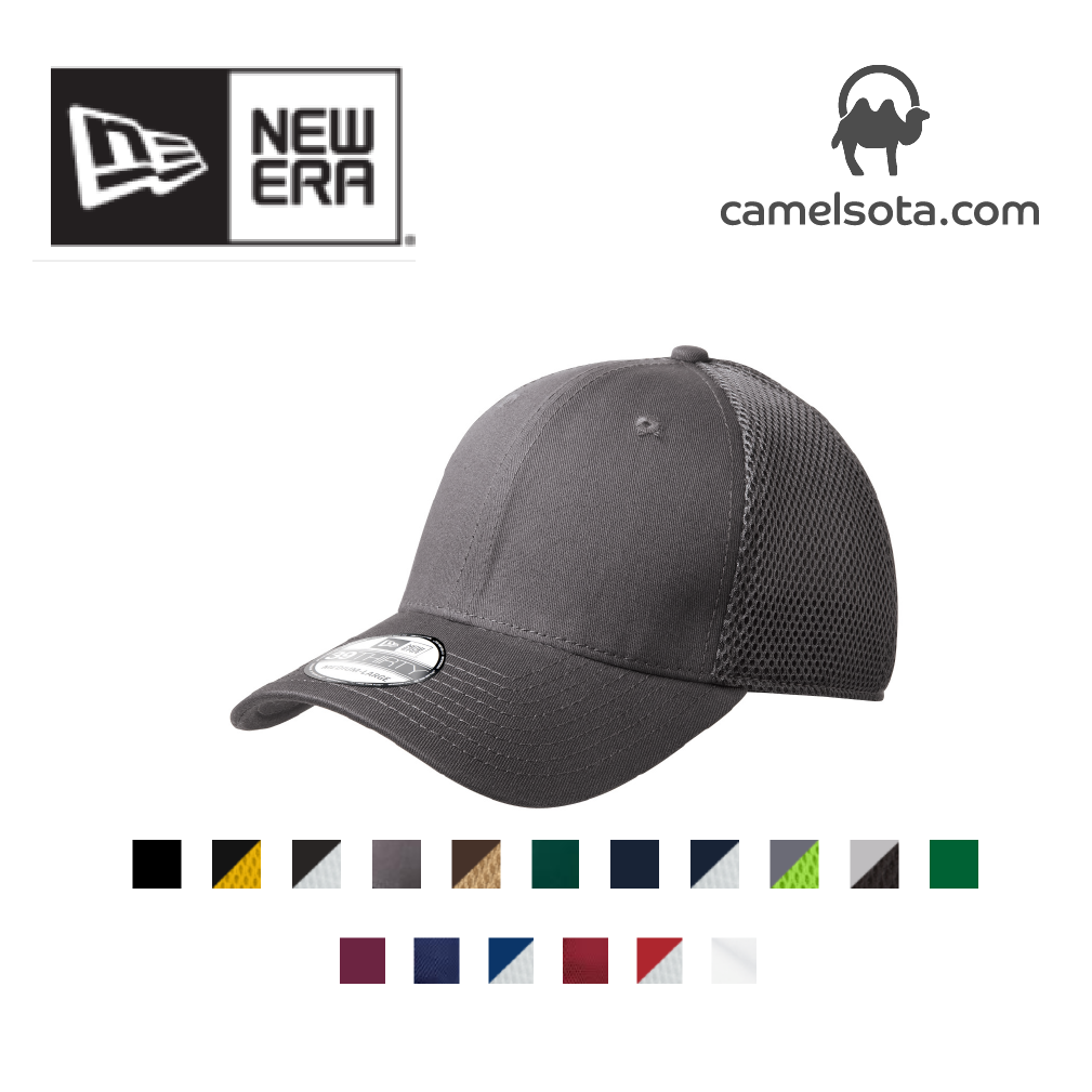 Custom Embroidered New Era - Stretch Mesh Cap