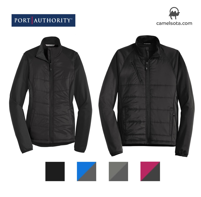 Custom Embroidered Port Authority Hybrid Soft Shell Jacket