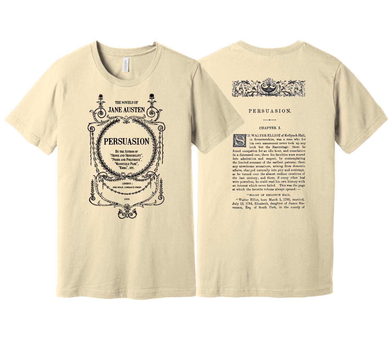 Persuasion by Jane Austen Shirt