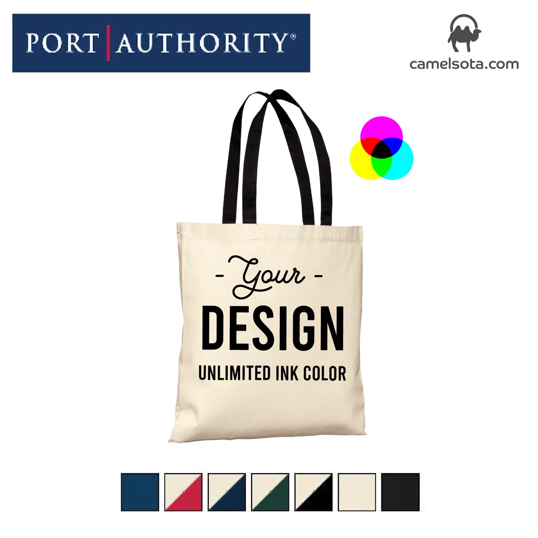 Custom Printed Port Authority - Budget Tote Bag