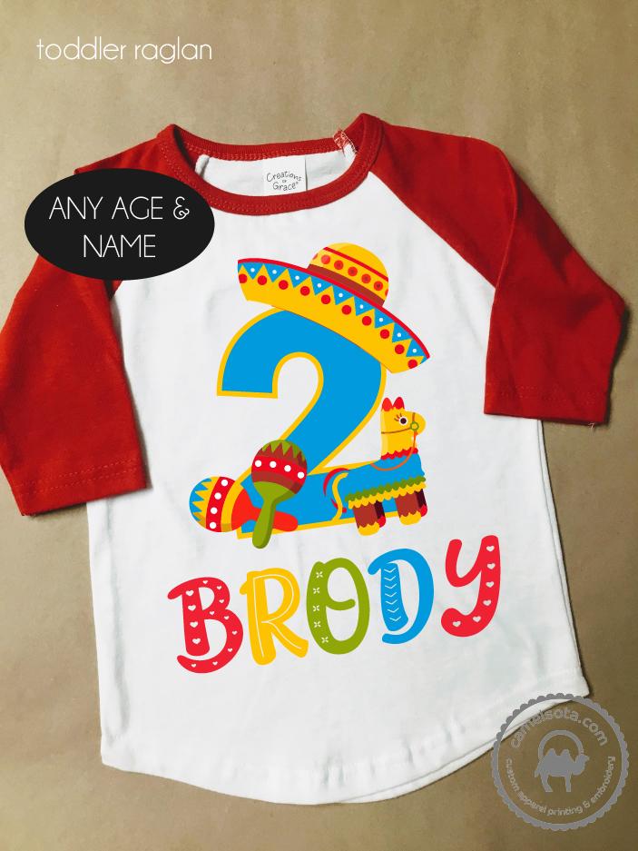 Fiesta Birthday Party Shirt