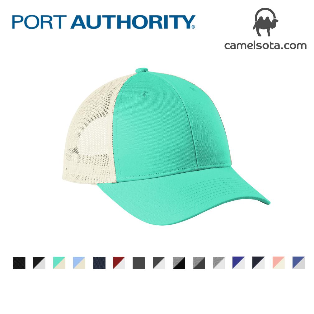Custom Embroidered Port Authority Low-Profile Snapback Trucker Cap