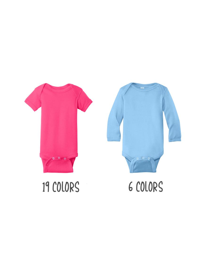Custom Rabbit Skins Infant Baby Rib Bodysuit