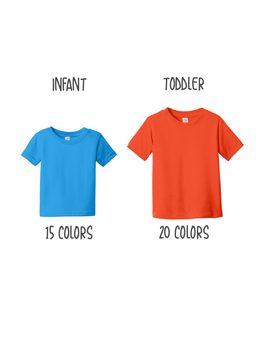 Custom Rabbit Skins Fine Jersey T-Shirt
