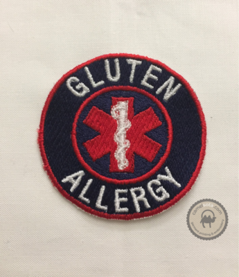 Embroidered Allergy and Medical Patches