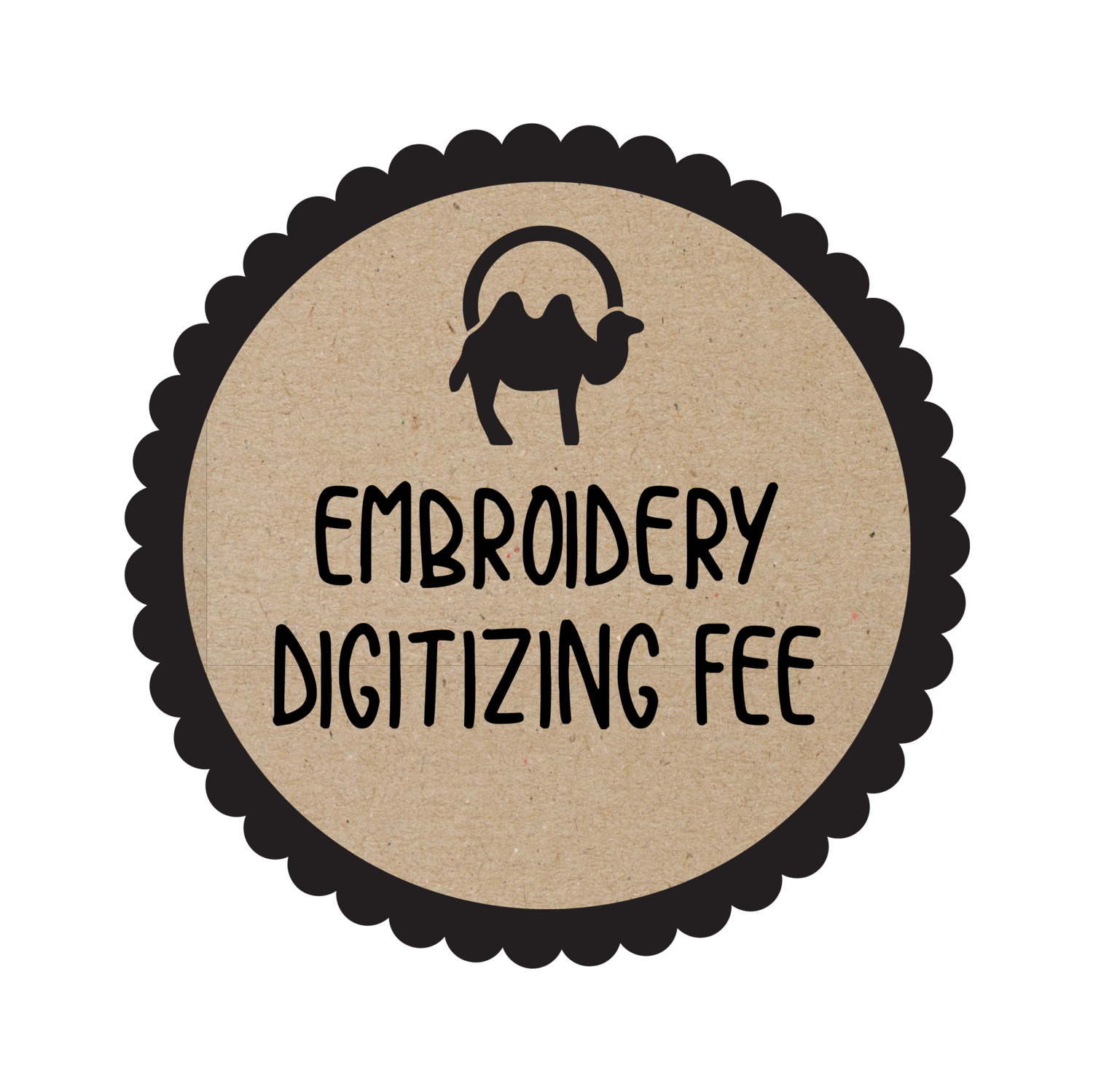 Logo Embroidery Digitizing Fee