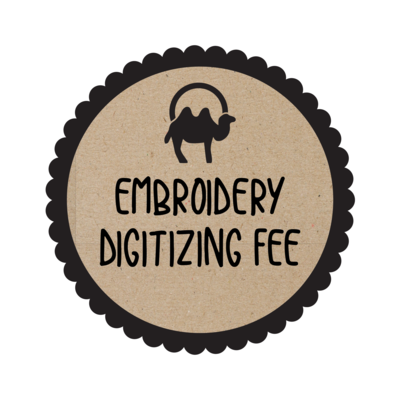 Logo Digitizing Fee for Embroidery