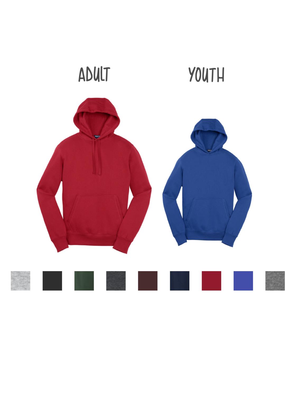 Customized Sport-Tek Pullover Hooded Sweatshirt