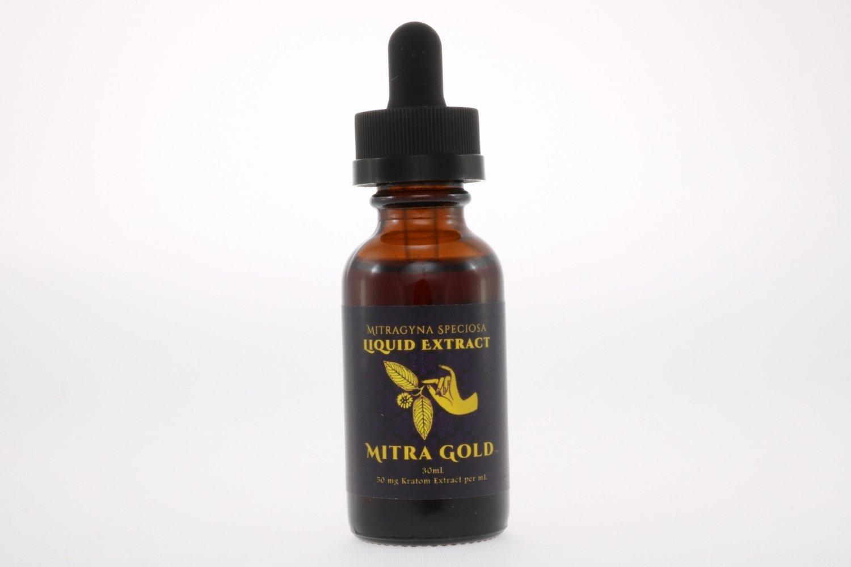 Mitragyna speciosa full spectrum extract tincture White Maeng Da strain