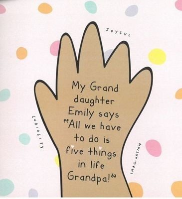 My Grand daughter Emily says