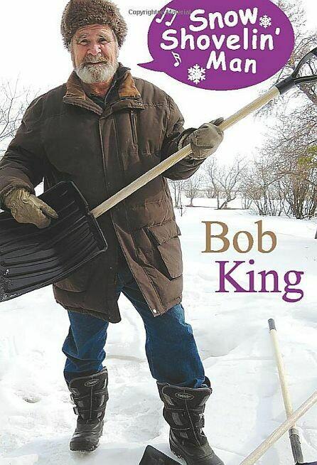 Snow Shovelin' Man