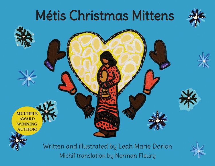 Métis Christmas Mittens 00001632