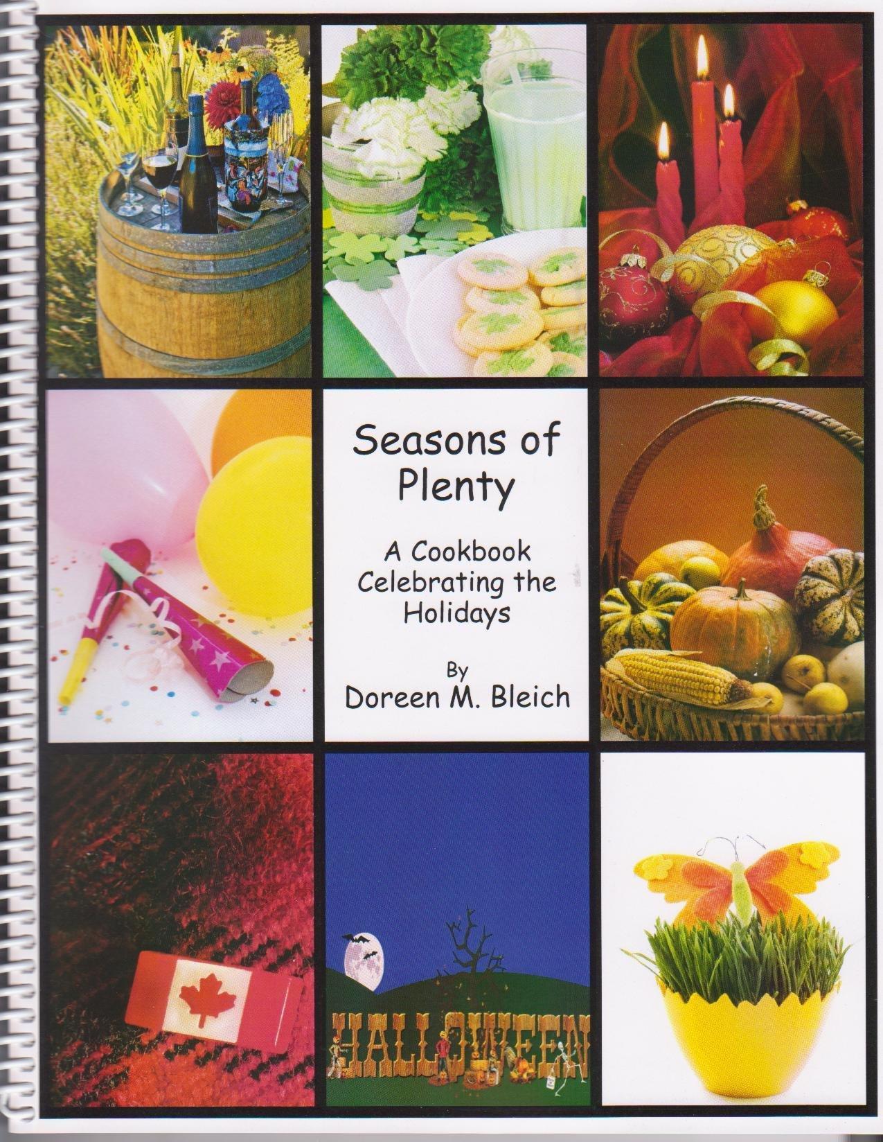 Seasons of Plenty: A Cookbook Celebrating the Holidays 00001251