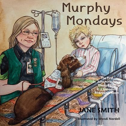 Murphy Mondays: The First St. John Ambulance Therapy Dog in a Canadian Emergency Room 00001710